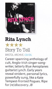 Rita Lynch Anthology 4 out of 5 Mojo album review