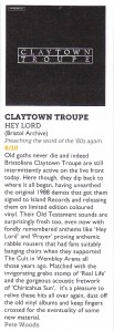 Claytown Troupe 8 out of 10 Vive le Rock album review